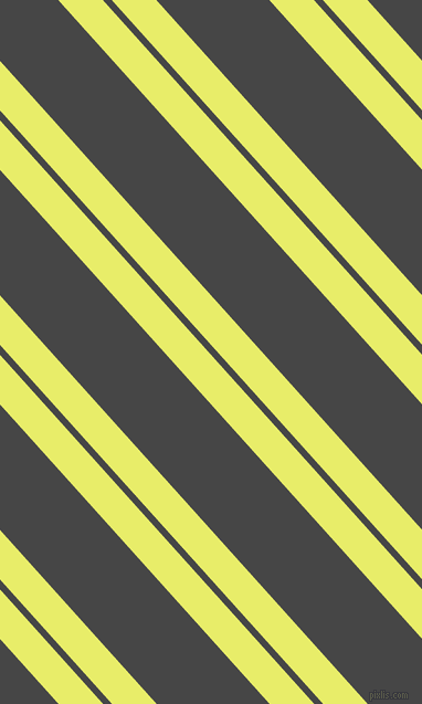 132 degree angle dual stripes lines, 30 pixel lines width, 6 and 76 pixel line spacing, Honeysuckle and Charcoal dual two line striped seamless tileable