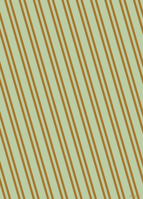106 degree angles dual stripe lines, 7 pixel lines width, 8 and 23 pixels line spacing, Hot Toddy and Pixie Green dual two line striped seamless tileable