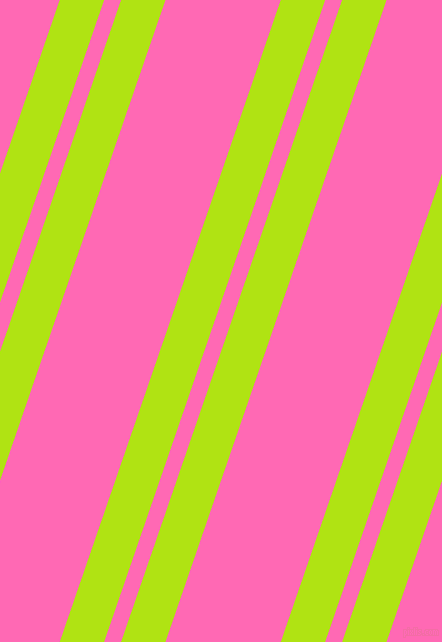 71 degree angles dual stripes lines, 42 pixel lines width, 16 and 109 pixels line spacing, Inch Worm and Hot Pink dual two line striped seamless tileable