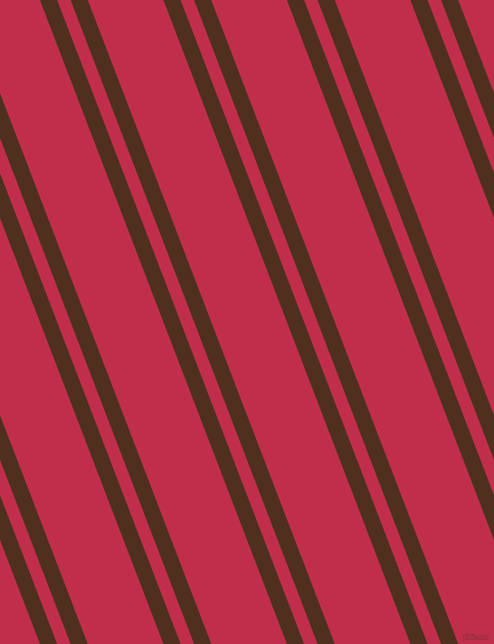 111 degree angles dual stripe line, 23 pixel line width, 18 and 101 pixels line spacing, Indian Tan and Old Rose dual two line striped seamless tileable