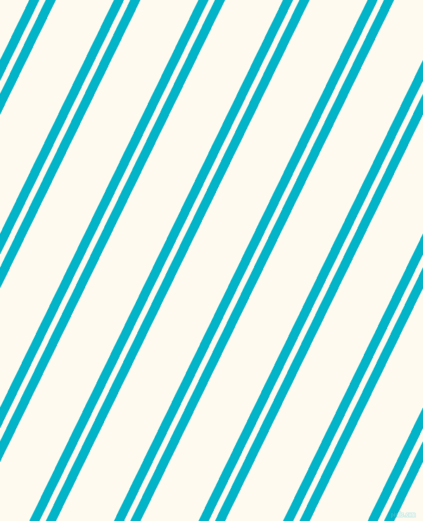 64 degree angle dual stripes line, 13 pixel line width, 8 and 74 pixel line spacing, Iris Blue and Floral White dual two line striped seamless tileable
