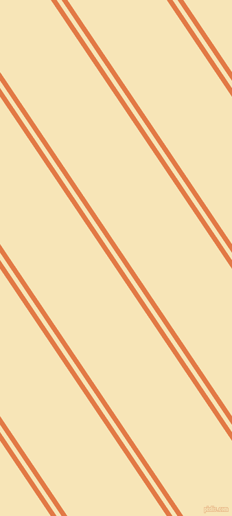 124 degree angle dual stripes lines, 7 pixel lines width, 6 and 120 pixel line spacing, Jaffa and Barley White dual two line striped seamless tileable