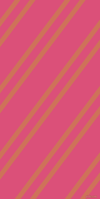 53 degree angles dual stripes lines, 15 pixel lines width, 24 and 75 pixels line spacing, Japonica and Cranberry dual two line striped seamless tileable
