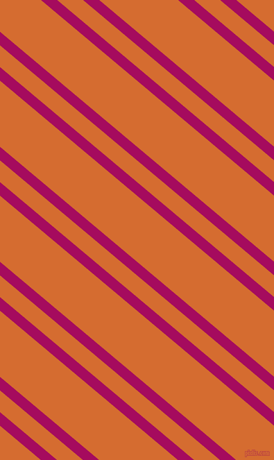 140 degree angles dual striped line, 15 pixel line width, 24 and 73 pixels line spacing, Jazzberry Jam and Gold Drop dual two line striped seamless tileable