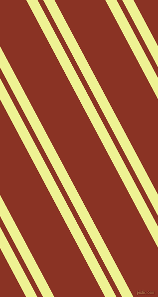 118 degree angles dual stripe line, 20 pixel line width, 10 and 90 pixels line spacing, Jonquil and Burnt Umber dual two line striped seamless tileable