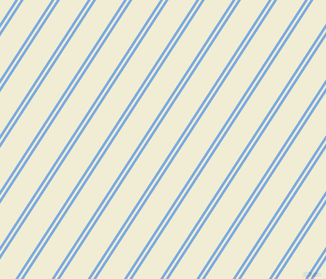 57 degree angle dual stripes line, 5 pixel line width, 4 and 46 pixel line spacing, Jordy Blue and Rum Swizzle dual two line striped seamless tileable
