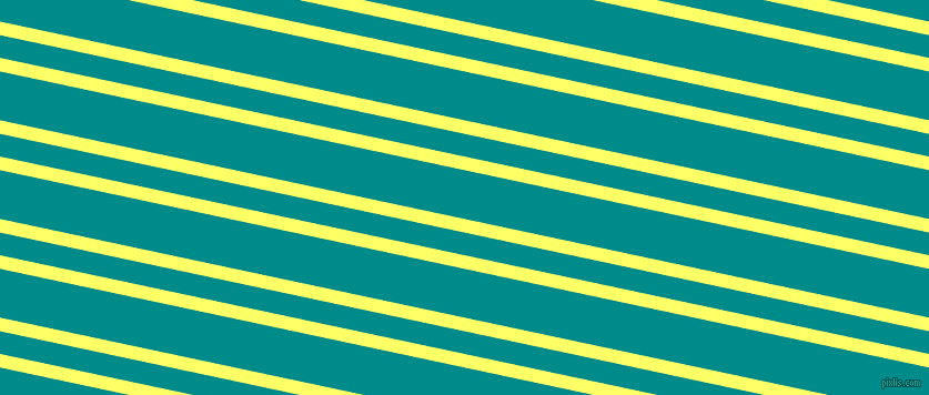 168 degree angle dual stripes line, 12 pixel line width, 20 and 43 pixel line spacing, Laser Lemon and Dark Cyan dual two line striped seamless tileable