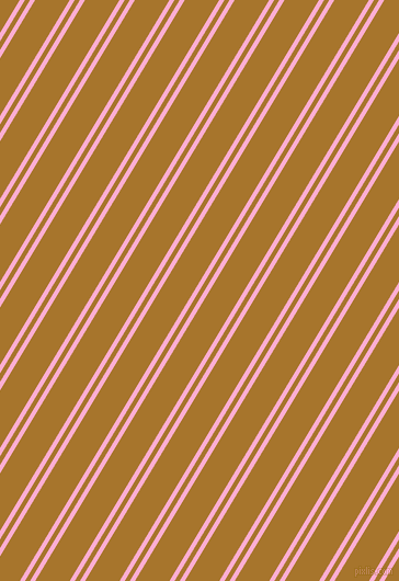 59 degree angles dual stripe line, 4 pixel line width, 4 and 27 pixels line spacingLavender Pink and Hot Toddy dual two line striped seamless tileable