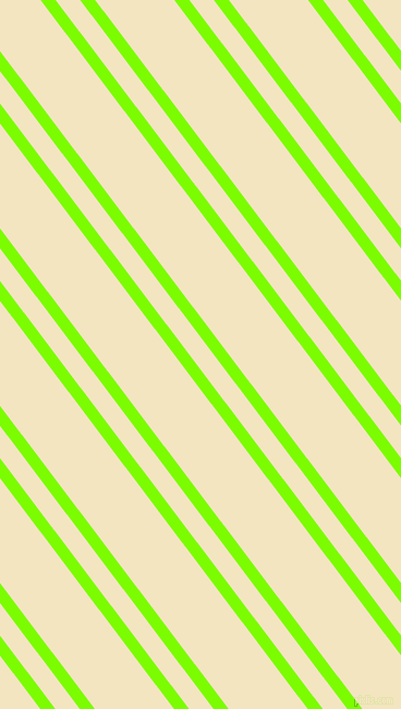 127 degree angle dual striped line, 11 pixel line width, 18 and 58 pixel line spacing, Lawn Green and Milk Punch dual two line striped seamless tileable