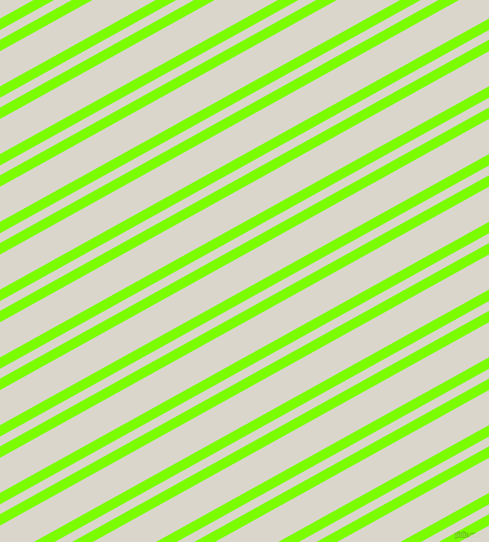 29 degree angles dual stripe line, 14 pixel line width, 12 and 43 pixels line spacing, Lawn Green and White Pointer dual two line striped seamless tileable