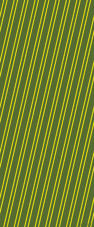 77 degree angles dual stripe line, 3 pixel line width, 8 and 20 pixels line spacing, Lemon and Dark Olive Green dual two line striped seamless tileable
