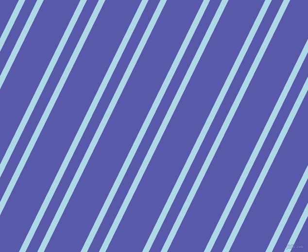 64 degree angle dual stripes lines, 12 pixel lines width, 22 and 68 pixel line spacing, Light Blue and Rich Blue dual two line striped seamless tileable