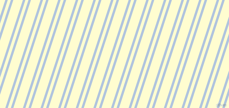 72 degree angles dual stripe line, 8 pixel line width, 10 and 31 pixels line spacing, Light Steel Blue and Cream dual two line striped seamless tileable