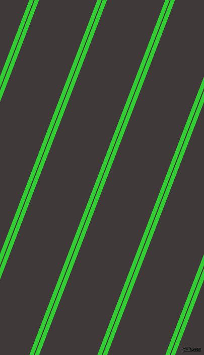69 degree angles dual striped lines, 8 pixel lines width, 2 and 108 pixels line spacing, Lime Green and Eclipse dual two line striped seamless tileable