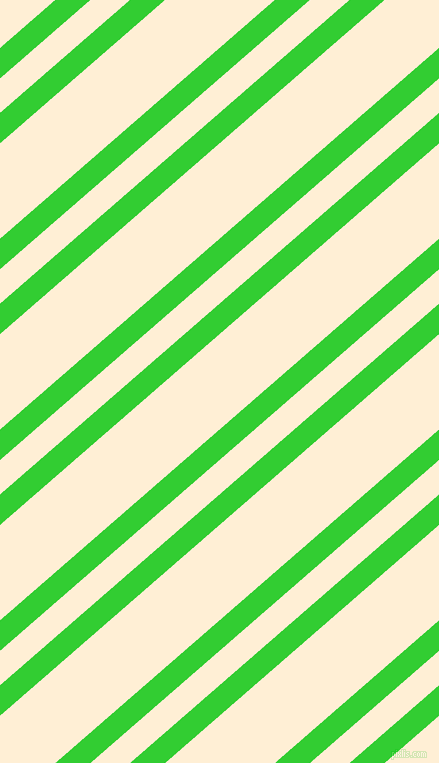 41 degree angle dual striped line, 23 pixel line width, 26 and 72 pixel line spacing, Lime Green and Papaya Whip dual two line striped seamless tileable