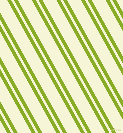 119 degree angle dual stripe lines, 12 pixel lines width, 8 and 42 pixel line spacing, Limerick and Hint Of Yellow dual two line striped seamless tileable