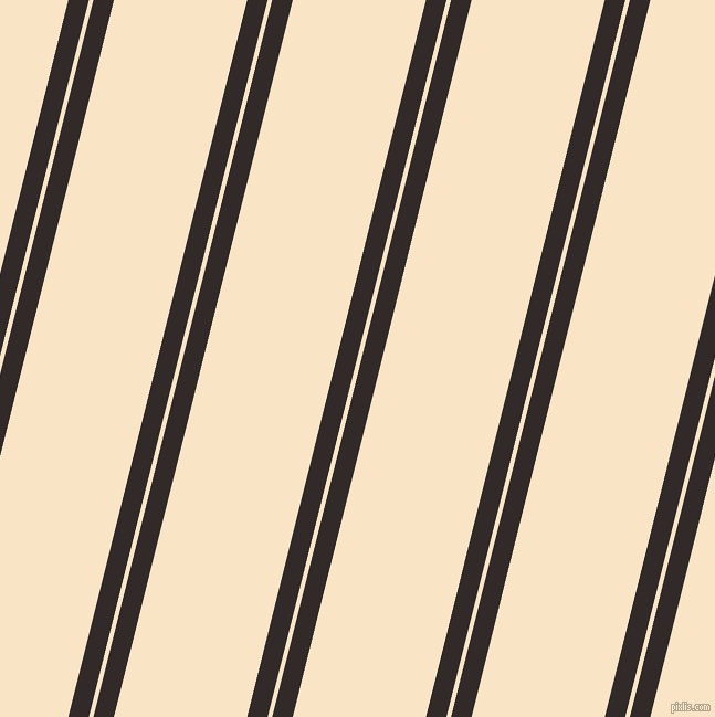 76 degree angle dual stripes line, 18 pixel line width, 4 and 117 pixel line spacing, Livid Brown and Egg Sour dual two line striped seamless tileable