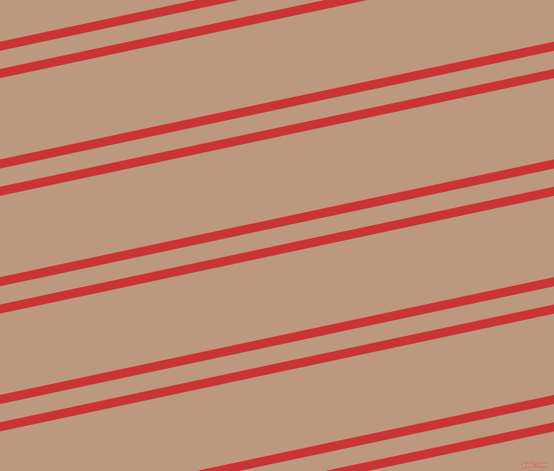 12 degree angle dual stripe line, 13 pixel line width, 26 and 116 pixel line spacing, Mahogany and Pale Taupe dual two line striped seamless tileable