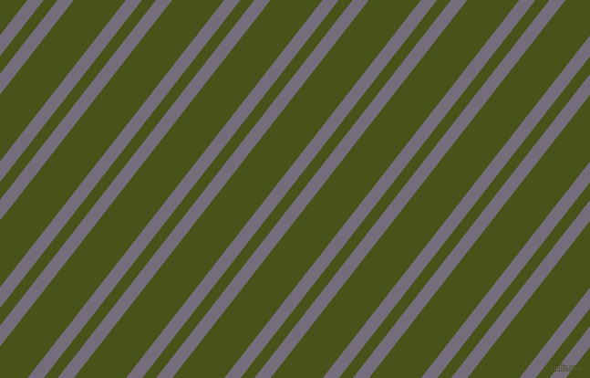 52 degree angle dual stripe line, 14 pixel line width, 12 and 45 pixel line spacing, Mamba and Verdun Green dual two line striped seamless tileable
