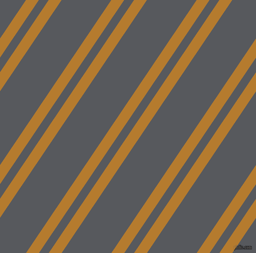 56 degree angles dual stripes lines, 21 pixel lines width, 16 and 81 pixels line spacing, Mandalay and Bright Grey dual two line striped seamless tileable