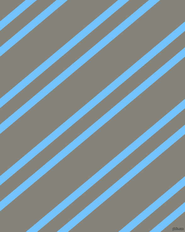 40 degree angle dual stripes lines, 23 pixel lines width, 40 and 103 pixel line spacing, Maya Blue and Friar Grey dual two line striped seamless tileable