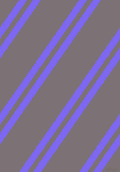 55 degree angles dual stripe lines, 23 pixel lines width, 16 and 108 pixels line spacing, Medium Slate Blue and Empress dual two line striped seamless tileable