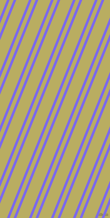 68 degree angles dual stripes line, 8 pixel line width, 12 and 38 pixels line spacing, Medium Slate Blue and Gimblet dual two line striped seamless tileable