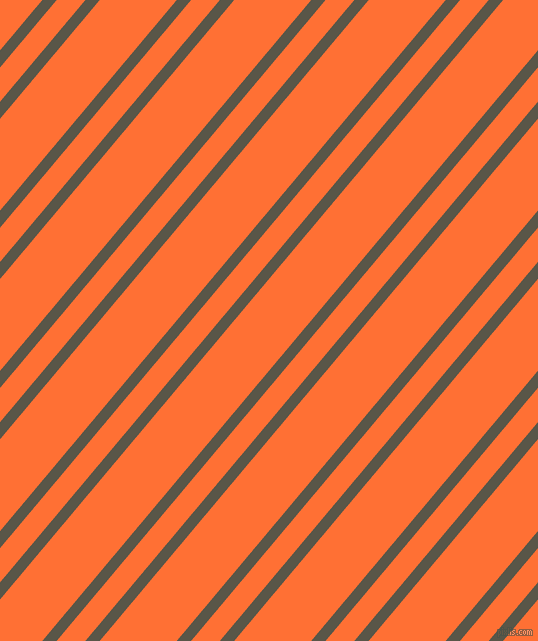 50 degree angles dual striped line, 11 pixel line width, 22 and 59 pixels line spacing, Millbrook and Burnt Orange dual two line striped seamless tileable