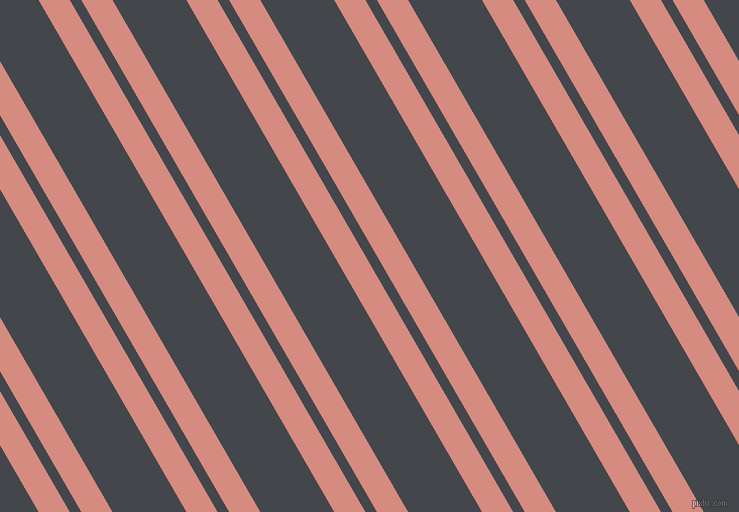 120 degree angles dual striped line, 27 pixel line width, 10 and 64 pixels line spacing, My Pink and Steel Grey dual two line striped seamless tileable