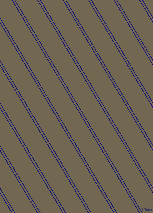121 degree angles dual striped line, 2 pixel line width, 6 and 66 pixels line spacing, Navy and Coffee dual two line striped seamless tileable