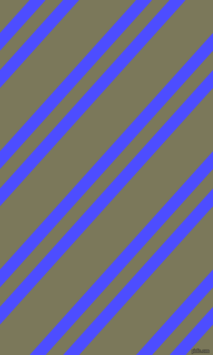 48 degree angles dual stripe line, 24 pixel line width, 26 and 85 pixels line spacing, Neon Blue and Kokoda dual two line striped seamless tileable
