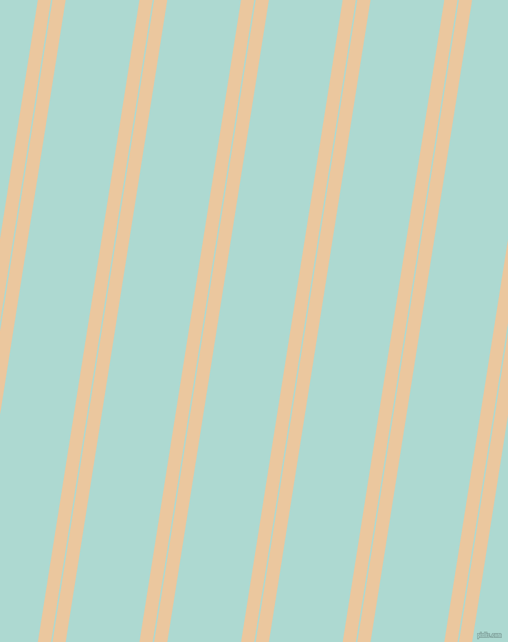81 degree angles dual stripes line, 19 pixel line width, 2 and 106 pixels line spacing, New Tan and Scandal dual two line striped seamless tileable