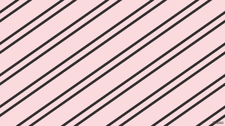 35 degree angle dual stripe line, 8 pixel line width, 16 and 53 pixel line spacing, Night Rider and Pale Pink dual two line striped seamless tileable