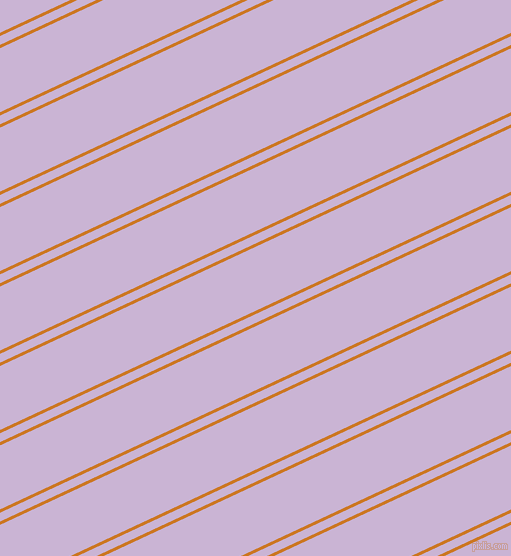25 degree angles dual stripe line, 3 pixel line width, 8 and 58 pixels line spacing, Ochre and Prelude dual two line striped seamless tileable