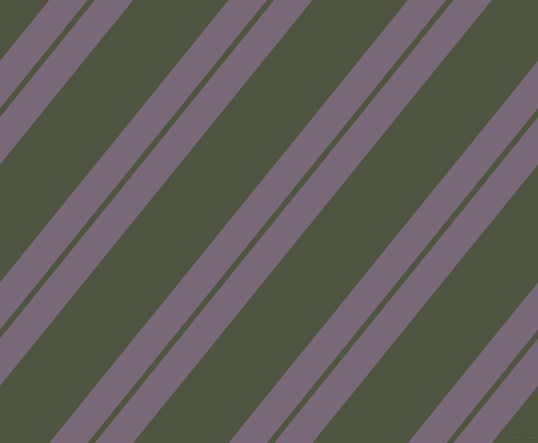 51 degree angles dual stripes lines, 43 pixel lines width, 8 and 107 pixels line spacing, Old Lavender and Lunar Green dual two line striped seamless tileable