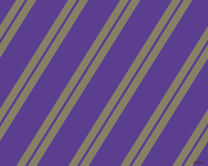 58 degree angles dual stripe lines, 24 pixel lines width, 8 and 88 pixels line spacing, Olive Haze and Daisy Bush dual two line striped seamless tileable