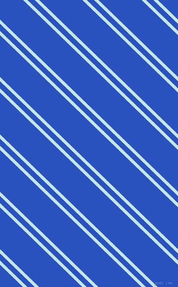 136 degree angles dual striped line, 6 pixel line width, 10 and 59 pixels line spacing, Onahau and Cerulean Blue dual two line striped seamless tileable