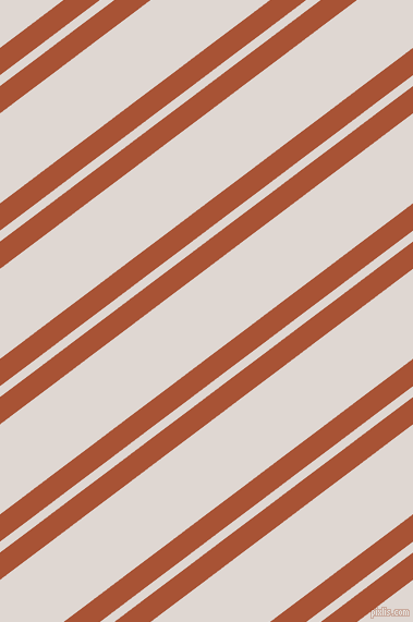 37 degree angles dual striped line, 20 pixel line width, 8 and 66 pixels line spacing, Orange Roughy and Bon Jour dual two line striped seamless tileable