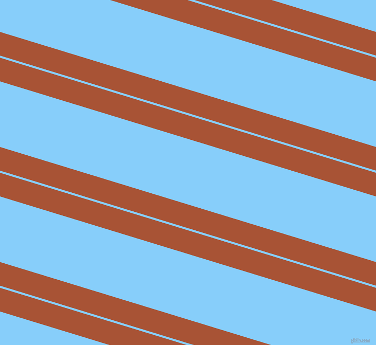 163 degree angle dual stripes lines, 44 pixel lines width, 4 and 122 pixel line spacing, Orange Roughy and Light Sky Blue dual two line striped seamless tileable