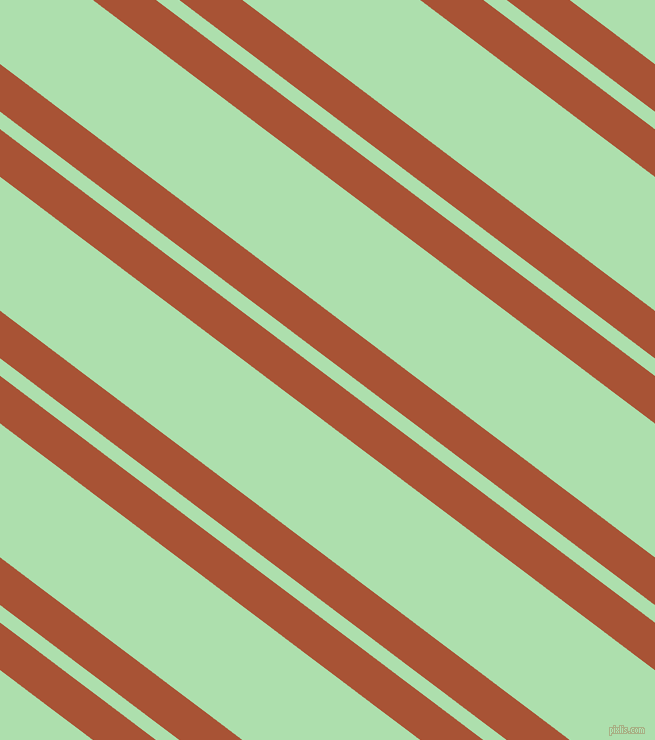 143 degree angles dual striped lines, 38 pixel lines width, 14 and 107 pixels line spacing, Orange Roughy and Moss Green dual two line striped seamless tileable