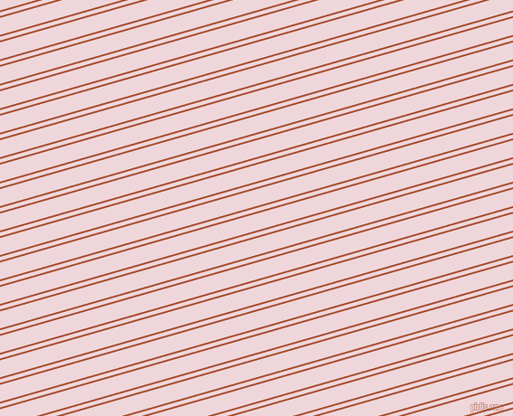 16 degree angle dual stripe lines, 2 pixel lines width, 4 and 18 pixel line spacing, Orange Roughy and Pale Rose dual two line striped seamless tileable