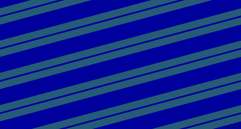 15 degree angle dual stripes line, 24 pixel line width, 6 and 53 pixel line spacing, Orient and New Midnight Blue dual two line striped seamless tileable