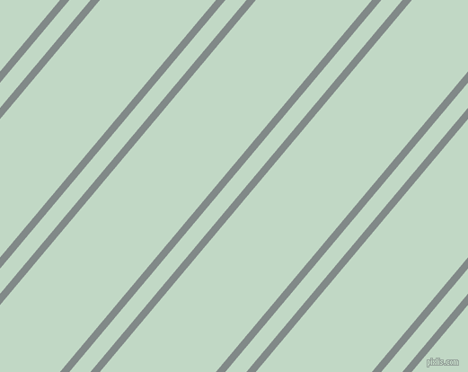 50 degree angles dual stripes lines, 8 pixel lines width, 18 and 99 pixels line spacing, Oslo Grey and Edgewater dual two line striped seamless tileable