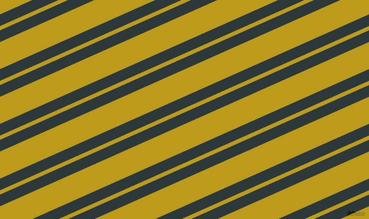 24 degree angle dual stripe lines, 22 pixel lines width, 8 and 51 pixel line spacing, Outer Space and Buddha Gold dual two line striped seamless tileable