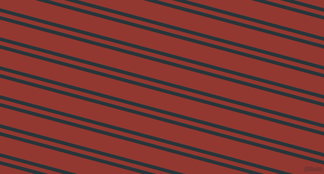 165 degree angle dual stripe line, 7 pixel line width, 8 and 34 pixel line spacing, Oxford Blue and Thunderbird dual two line striped seamless tileable