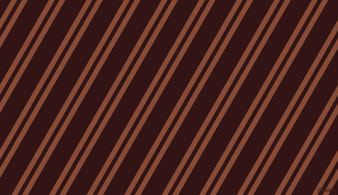 60 degree angle dual stripes line, 10 pixel line width, 8 and 36 pixel line spacingPaarl and Seal Brown dual two line striped seamless tileable