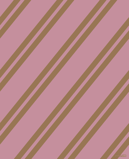 51 degree angles dual stripe lines, 17 pixel lines width, 10 and 64 pixels line spacing, Pale Brown and Viola dual two line striped seamless tileable