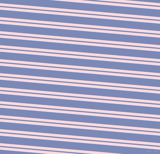 175 degree angle dual stripe line, 9 pixel line width, 4 and 25 pixel line spacing, Pale Pink and Wild Blue Yonder dual two line striped seamless tileable