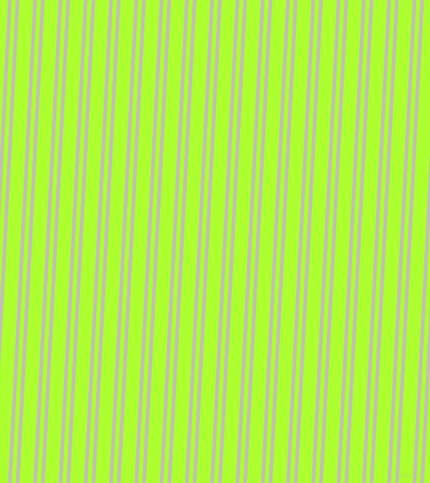 87 degree angle dual stripes lines, 5 pixel lines width, 6 and 20 pixel line spacing, Pale Slate and Green Yellow dual two line striped seamless tileable