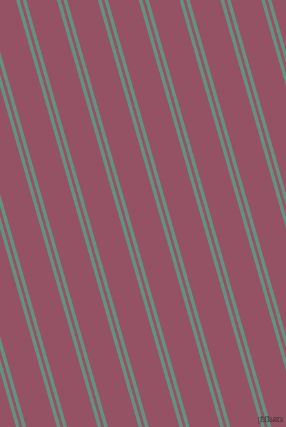 106 degree angle dual stripe line, 5 pixel line width, 4 and 43 pixel line spacing, Patina and Vin Rouge dual two line striped seamless tileable